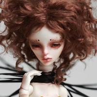球体関節人形 スパイダー 女の子 1/4 本体+眼球+全身メイクアップ済み BJD カスタムドール 蜘蛛 虫 美少女 かわいい 選べる4色