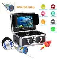 水中カメラ 釣りカメラセット 7インチモニター 30mケーブル GAMWATER 1000tvl 赤外線LEDライト 12灯 綺麗な映像