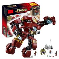 レゴ互換 スーパーヒーローズ ハルクのバスタースマッシュ 76031 互換品 アイアンマン ハルク アベンジャーズ ブロックセット LEGO風