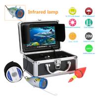 水中カメラ 釣りカメラセット 7インチモニター 20mケーブル GAMWATER 1000tvl アルミニウム合金 赤外線 LEDライト 12灯 映像が綺麗