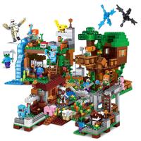 レゴ互換 ジャングルツリーハウス フィギュア 要塞