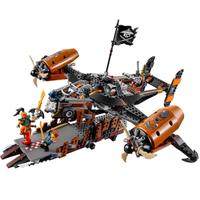 レゴ互換 ニンジャゴー 空賊母艦ミスフォーチュン号 70605 互換品 飛行機 ミニフィグ付き LEGO風 ブロックセット