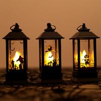 【ハロウィン】 ランタン LEDライト かぼちゃ お化け 魔女 【3種類】
