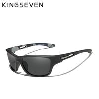 【超軽量】 KINGSEVEN ゴーグルタイプ メンズ 偏光サングラス UV400 ポラロイド スポーツスタイル 高級 海外トップブランド S769 【選べる3色】