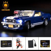 レゴ 10265 フォード マスタング 互換 LEDライトキット バッテリーボックス ライトアップ セット