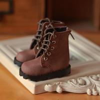 球体関節人形 ブーツ 革靴 1/6 ドールシューズ レザー BJD アクセサリー カスタムドール 人形用 選べる5色