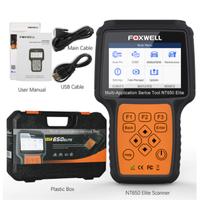 【FOXWELL】 NT650エリート スキャンツール 日本語対応 OBD2 コードリーダー 自動車 【故障診断機】