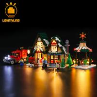 【LEDライトキット】 ウィンターポストオフィス 10222 レゴ互換 LIGHTAILING 【ライトアップセット】