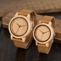 バンブーウォッチ BOBO BIRD 竹製腕時計 ボボバード レディース メンズ レザーバンド 本革 高品質クォーツ