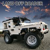 レゴ互換 テクニック ラジコン リモコン付き 2.4Ghz 動く RC ラジオコントロール オフロード レース 車 LEGO風