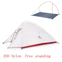 【Naturehike】テント 2人用 20Dナイロン 2層 超軽量 防水 キャンプ 登山【アウトドア】