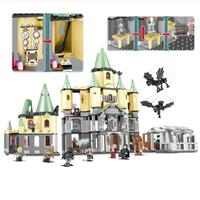 レゴ互換 ハリーポッター LEGO 5378 ホグワーツ城 互換品 ミニフィグ LEGO風 ブロックセット 1043ピース
