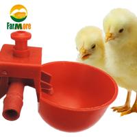 給水器 うずら ひよこ 鶏 鳥 10個セット ネジ付き フィーダー 給水機 カップ おすすめ 水飲み ペット 使い方簡単★