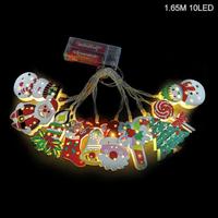 【LEDライト】 クリスマス おすすめ ストリング 勢ぞろい ツリー 【サンタ】