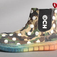 chelsea boots dots CAMOUFLAGE