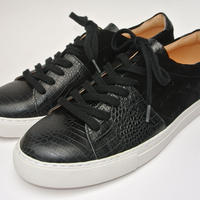 Color Block Lace Up BLACK