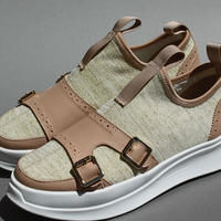 knitted double monk BEIGE