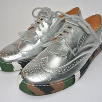 Wing Tip Camou Sole SILVER