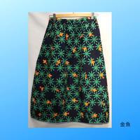 青衣☆バルーンスカート(藍染)