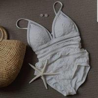ワンピースビキニ モノキニ レース Bikini セクシー