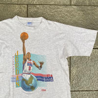 SALEM USA DREAM TEAM JORDAN/セーラムUSAドリームチーム ジョーダンTシャツ 91年製 Made In USA (USED)
