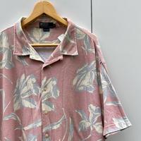 Polo Ralph Lauren/ポロラルフローレン 鹿の子アロハシャツ 90年代 Made In USA (USED)