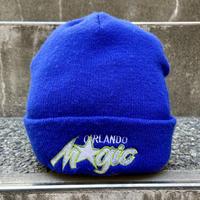 NBA ORLANDO MAGIC/オーランドマジック ロゴニットキャップ 90年代 (USED)