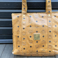 MCM/エムシーエム トートモノグラムトートバッグ Made In GERMANY 90年代 (USED)