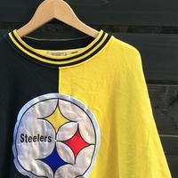 STARTER NFL STEELERS/スターター スティーラーズ 切り替えスウェット 90年代 (USED)