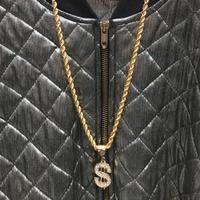 chameleonwearhouse/カメレオンウエアハウス ロープチェーンネックレス $ヘッド (NEW)