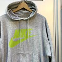NIKE/ナイキ ロゴフードスウェット 90年代 Made In JAPAN (USED)