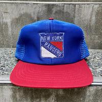 NHL RANGERS/ニューヨークレンジャーズ トラッカーキャップ 90年代 (USED?)