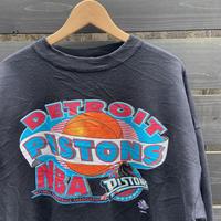 NBA DETROIT PISTONS/デトロイトピストンズ スウェット 90年代 Made In USA (USED)