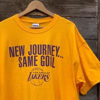 NBA LAKERS/ロサンゼルス レイカーズ  Tシャツ 2010年 (USED)