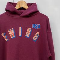 EWING/ユーイング パトリックユーイング フードスウェット 90年代 Made In USA (USED)