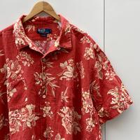 Polo Ralph Lauren/ポロラルフローレン コットン柄シャツ 90年代 (USED)
