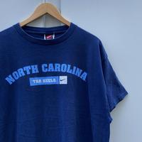 NIKE/ナイキ チームナイキ ノースキャロライナ大学 Tシャツ 2000年前後 (USED)