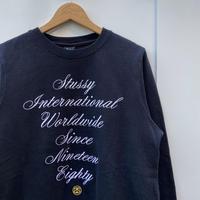 STUSSY/ステューシー ロゴ刺繍スウェット 2010年代 (USED)