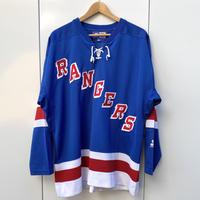 STARTER NHL RANGERS/スターター ニューヨーク レンジャーズ メッシュ ホッケーシャツ 2000年前後 (USED)