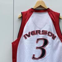 Reebok IVERSON/リーボック アイバーソン3バスケケットタンクトップ 2000年代 (USED)
