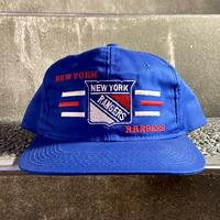 NHL RANGERS/ニューヨークレンジャーズ キャップ 90年代 (DEADSTOCK)
