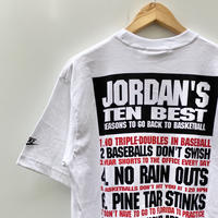 NIKE JORDAN/ナイキ ジョーダン Tシャツ 90年代 (DEADSTOCK)