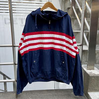 Polo Ralph Lauren/ポロラルフローレン コットンハーフジップフードジャケット 90年前後 (USED)