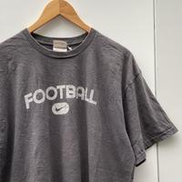 NIKE/ナイキ フットボールロゴTシャツ 2000年代 (USED)