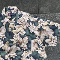 CHAPS RALPH LAUREN/チャップスラルフローレン コットン柄シャツ 90年代 (USED)