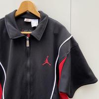NIKE JORDAN/ナイキ ジョーダン 半袖ジップシャツジャージ 90年代 (USED)