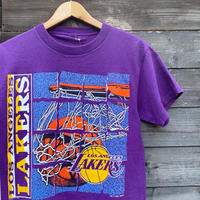 NBA LOS ANGELES LAKERS/ロサンゼルスレイカーズ Tシャツ 91年 (USED)