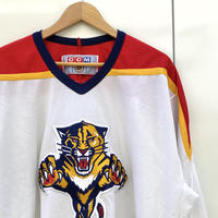 NHL FLORIDA PANTHERS/フロリダパンサーズメッシュ ホッケーシャツ 2000年前後 Made In CANADA (USED)