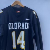 NIKE COLORADO/ナイキ フットボールコロラド大 フットボールシャツ 90年代 Made In USA (USED)
