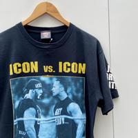 WRESTLE MANIA/レッスルマニア  THE ROCK vs HOGAN Tシャツ 2002年 (USED)